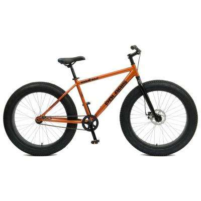 Wooly Bully Fat Tire Bicycle, 26 x 4 in. Wheels, 18.5 in. Frame, Unisex in Orange