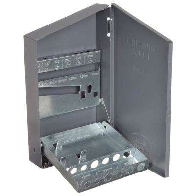 4 in. x 7 in. Metric Tap and Drill Bit Tool Case
