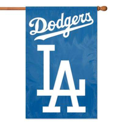Los Angeles Dodgers Applique Banner Flag