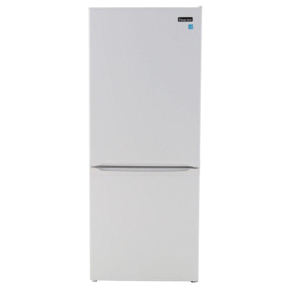 Magic Chef 23 8 In W 9 2 Cu Ft Bottom Freezer