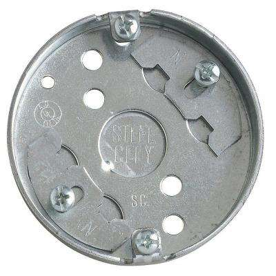 1-Gang 4 cu. in. Round Ceiling Box (Case of 25)