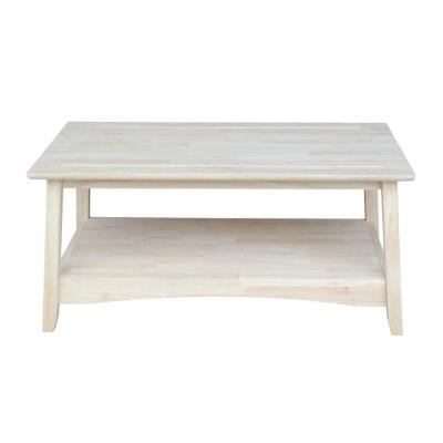 Bombay Unfinished Coffee Table