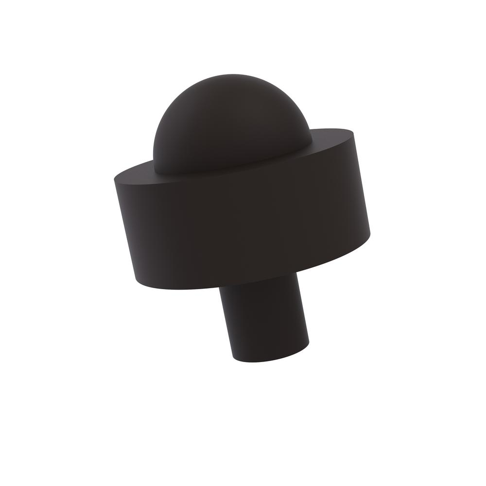Allied Brass 1-1/2 in. Cabinet Knob in Oil Rubbed Bronze