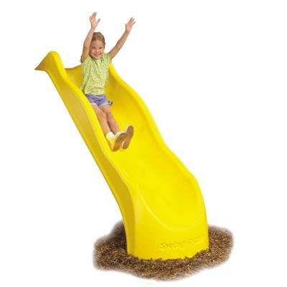 Yellow Speed Wave Slide