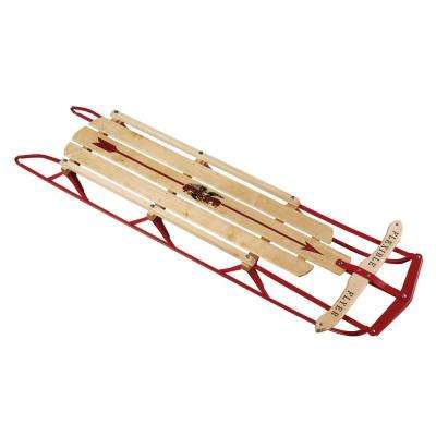 60 in. Steel Runner Sled