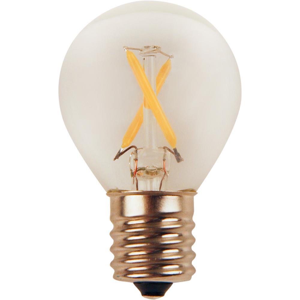 25-Watt Equivalent Bright White S11 LED Light Bulb