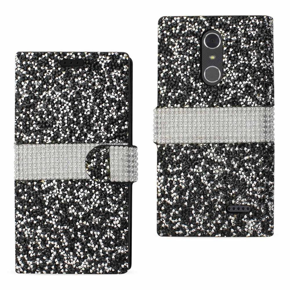 ZTE Grand X4 Rhinestone Case in Black