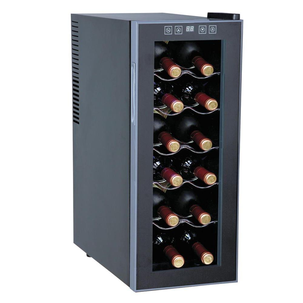 12-Bottle Thermoelectric Slim Wine Cooler