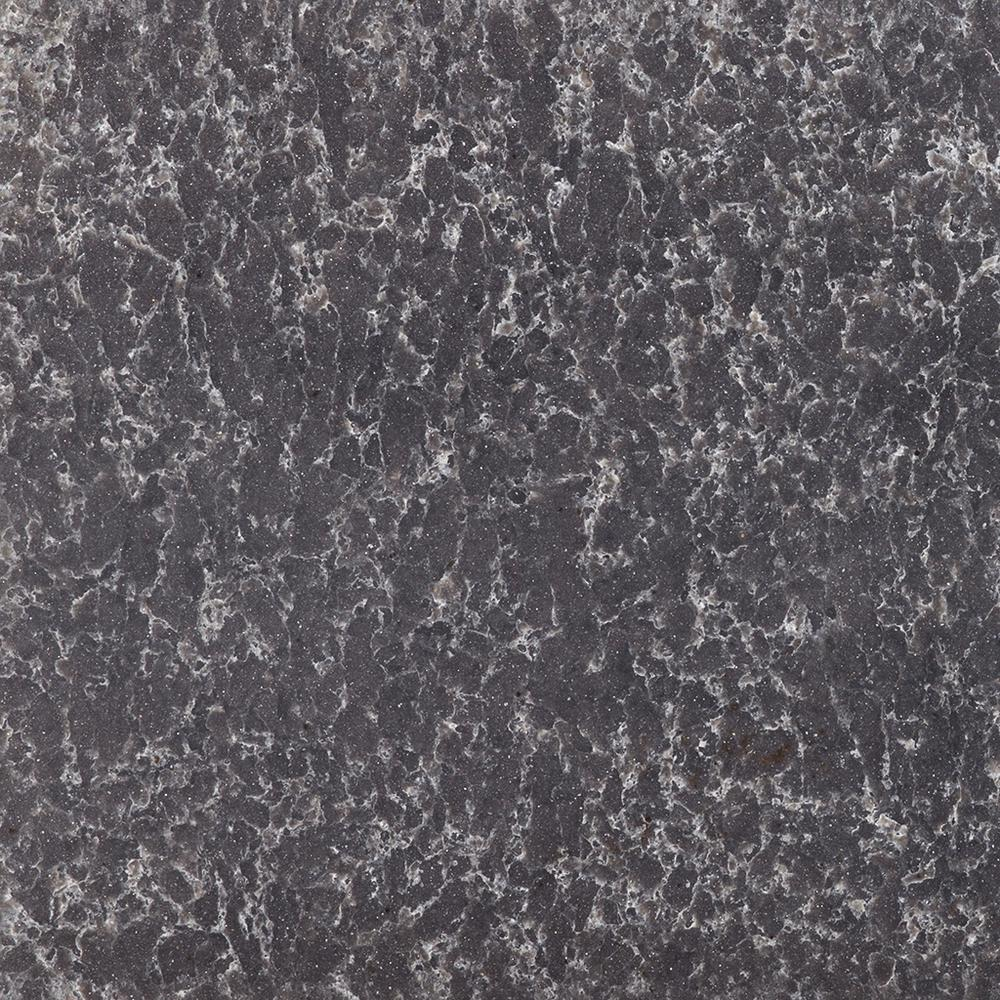 2 in. x 4 in. Quartz Countertop Sample in Ocean Storm