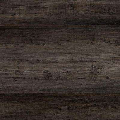 Take Home Sample   Hand Scraped Strand Woven Tacoma Solid Bamboo Flooring    5 In.