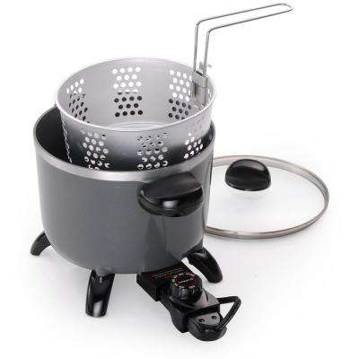 Electric Ceramic Multi Cooker/Deep Fryer/Steamer
