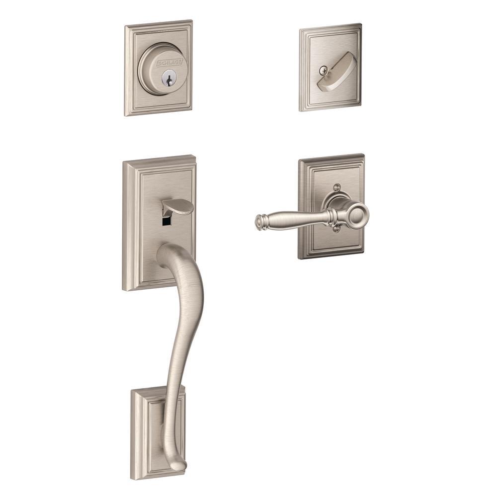 Schlage Door Handlesets Door Hardware The Home Depot