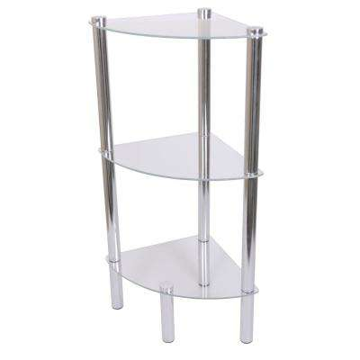 11.70 in W x 16.50 in. 3-Tier Shelf