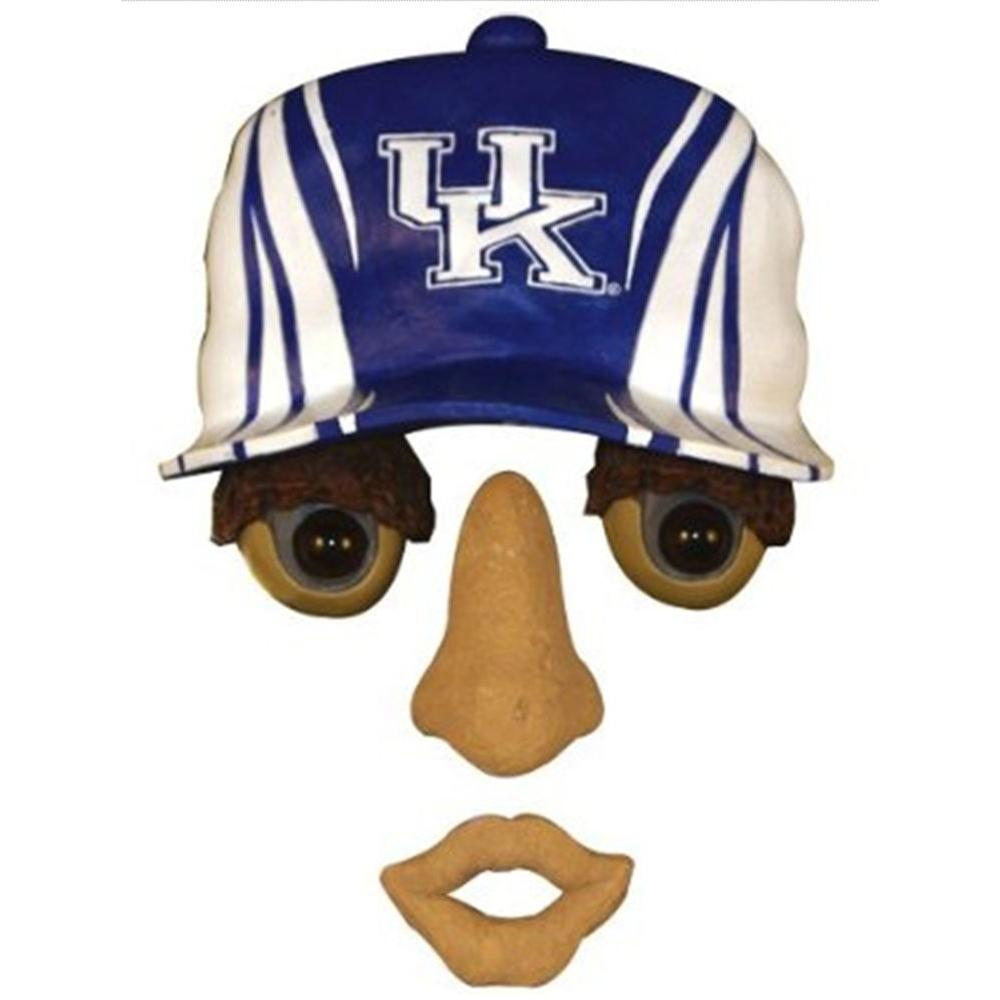 Team Sports America 14 in. x 7 in. Forest Face University of Kentucky