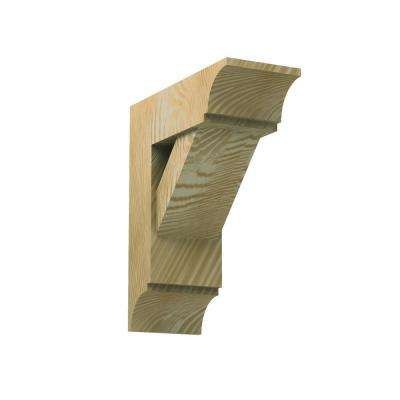5-1/2 in. x 16 in. x 14 in. Polyurethane Timber Bracket