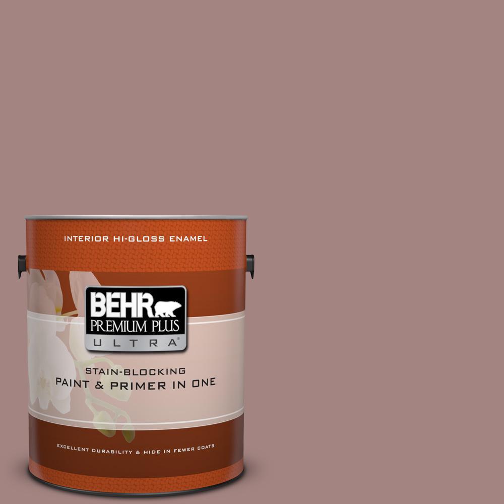 1 gal. #700B-4 Muse Hi-Gloss Enamel Interior Paint