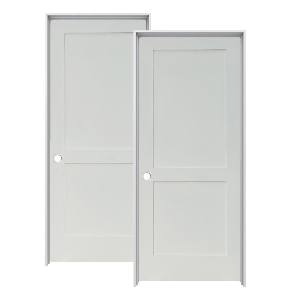 Doors Design: Krosswood Doors 24 In. X 80 In. Craftsman Shaker Primed