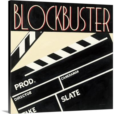 """""""Blockbuster"""" by Marco Fabiano Canvas Wall Art"""