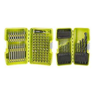 Black Oxide Driving and Drill Bit Set (103-Piece)