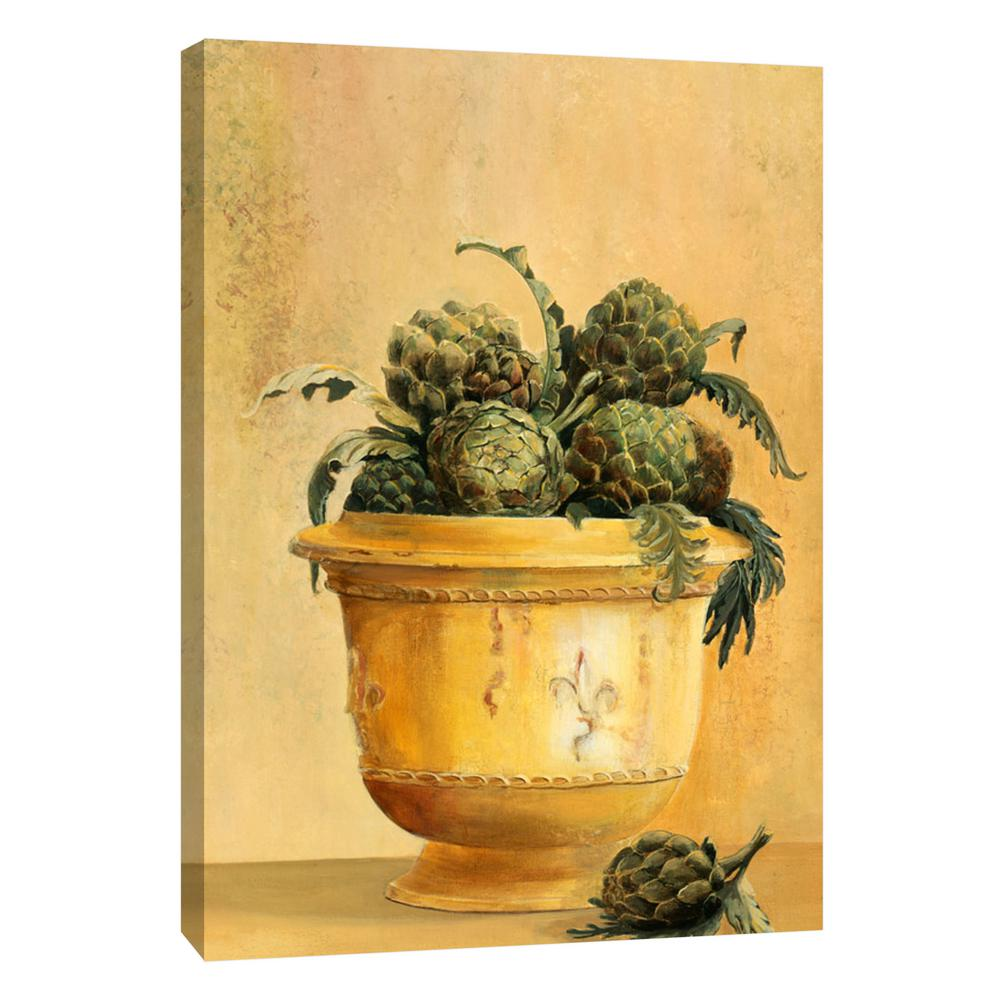 PTM Images 12.in x 10.in \'\'Artichokes\'\' Printed Canvas Wall Art-9 ...