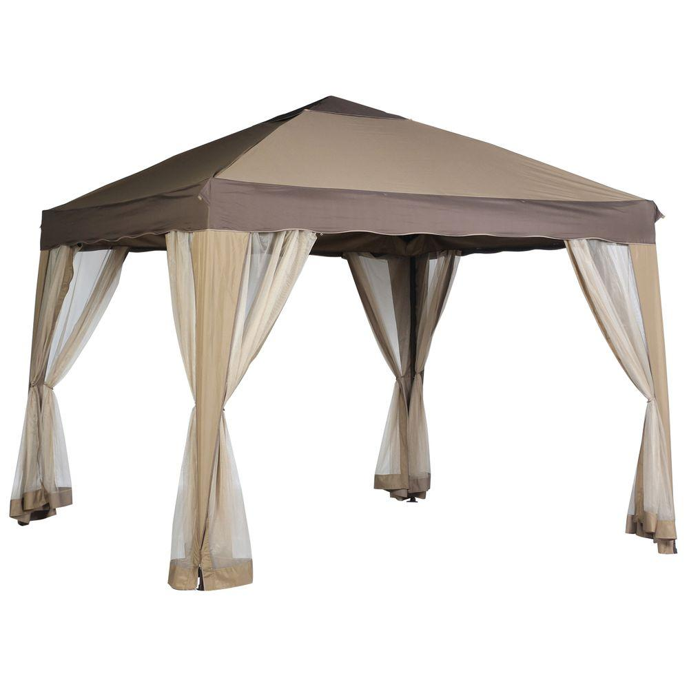 Hampton Bay 10 ft. x 10 ft. Portable Gazebo