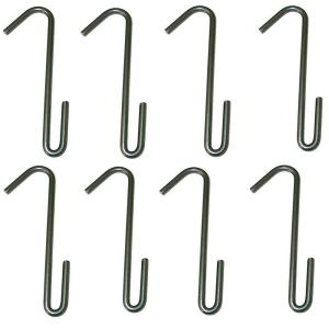 Rack It Up Rack It Up Hook Set of 8 for Use with Rack It Up Pot Racks Steel Gray by Rack It Up