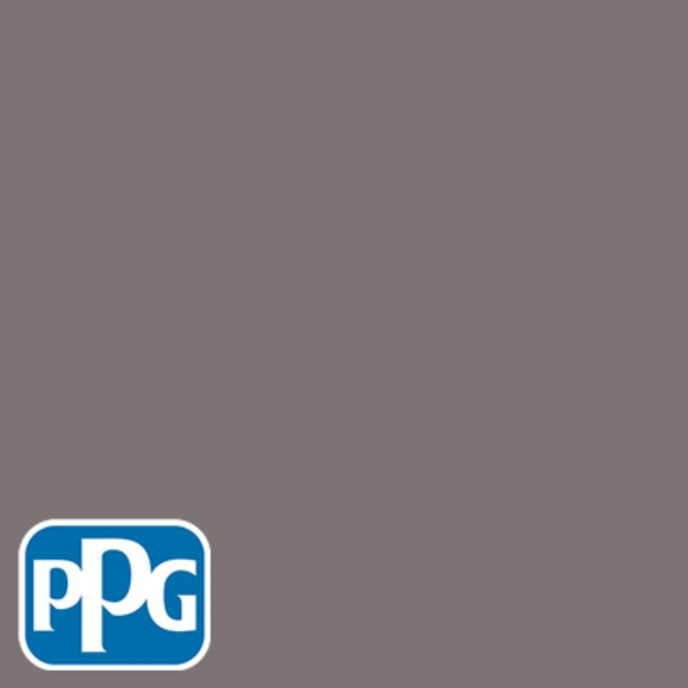 PPG TIMELESS 8 oz. #HDPPGCN59 Black Frosted Plum Eggshell Interior/Exterior Paint Sample