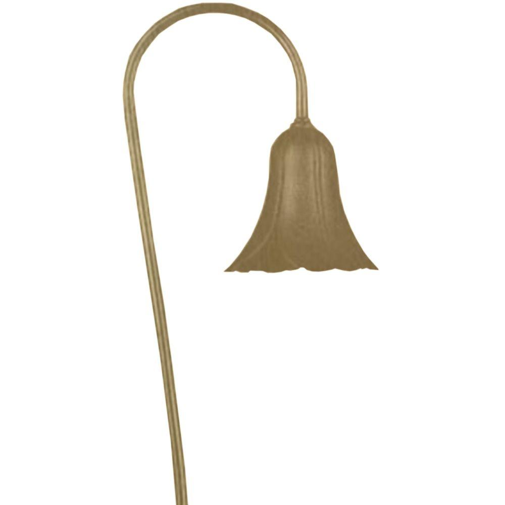 Filament Design Centennial 1-Light Outdoor LED Acid Treated Brass Path Light