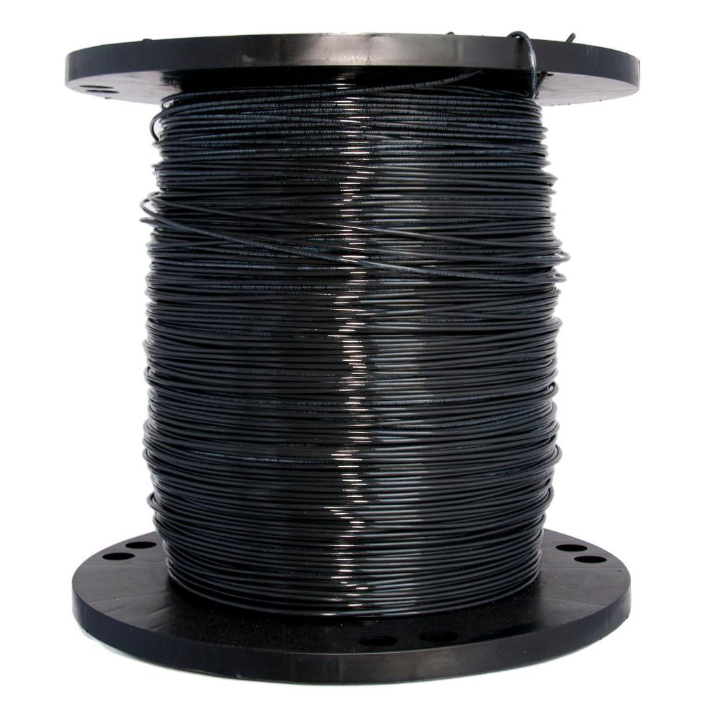 2500 ft. 14 Black Stranded CU THHN Wire