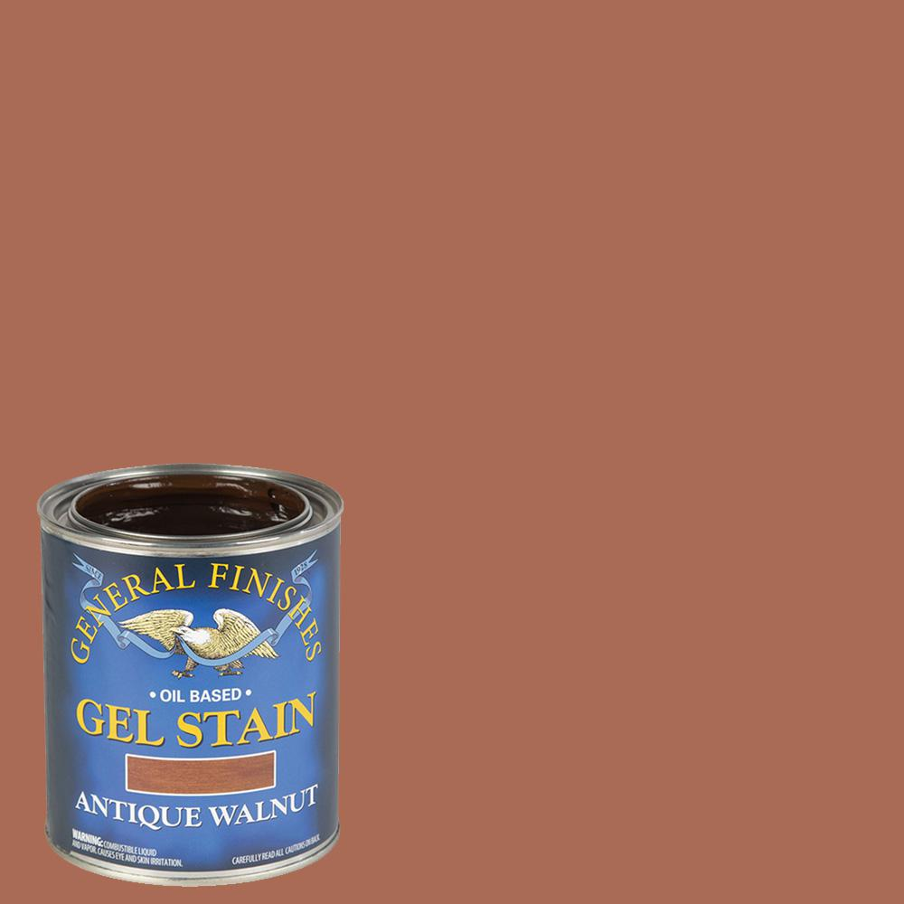 General Finishes 1-qt. Antique Walnut Oil-Based Interior Wood Gel Stain
