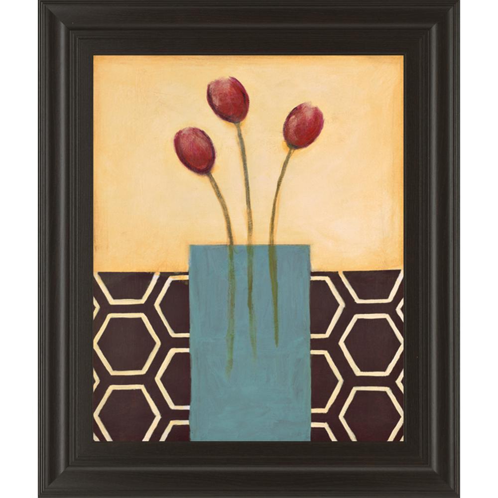 "22 in. x 26 in. ""Sweet as Honey I"" by K. Darlington Framed Printed Wall Art"