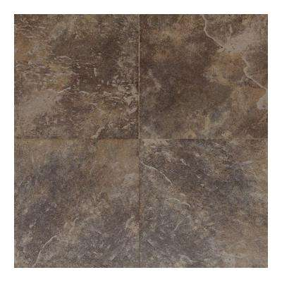 Continental Slate Moroccan Brown 18 in. x 18 in. Porcelain Floor and Wall Tile (18 sq. ft. / case)