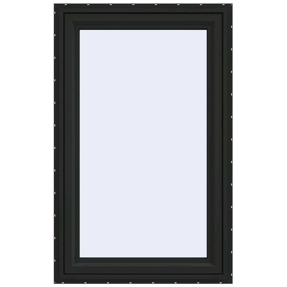 29.5 in. x 47.5 in. V-4500 Series Left-Hand Casement Vinyl Window