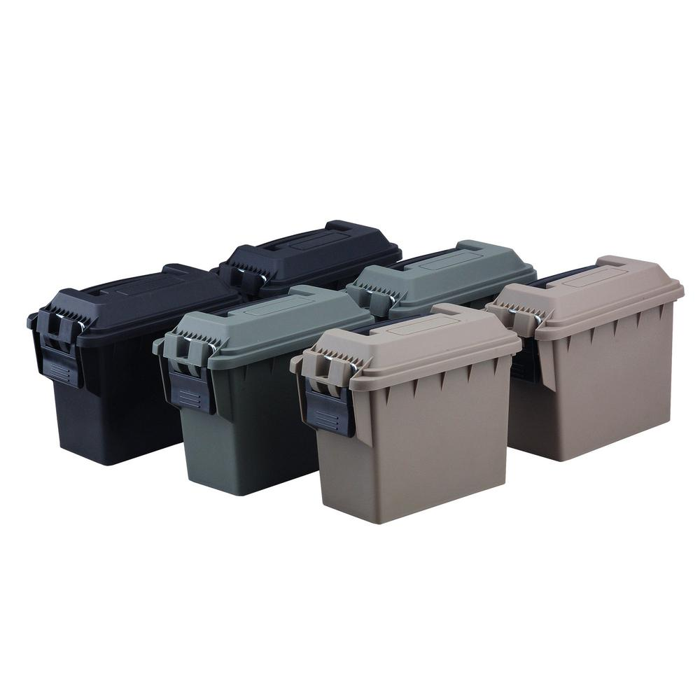 Mini Tactical Ammo Cans (6-Pack)