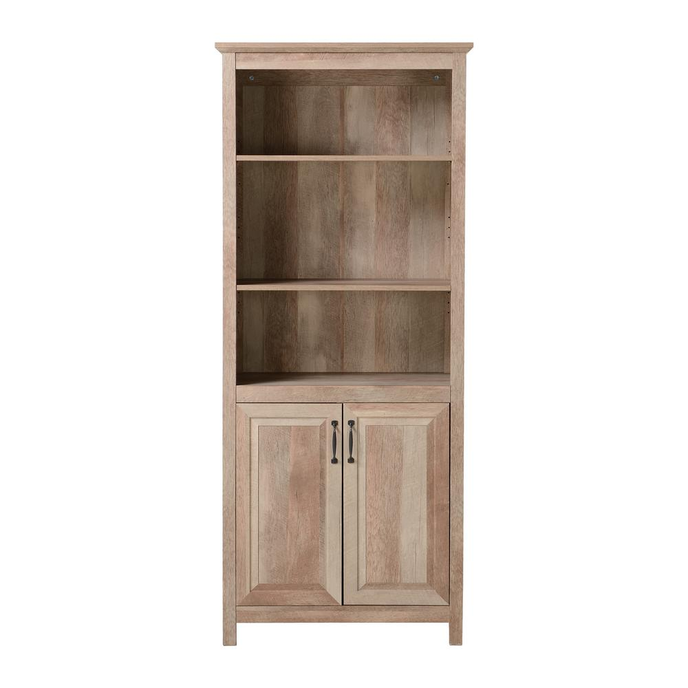Ready to Assemble 29.92x15.75x70.87 in. Display Pantry Cabinet in Reclaimed Wood