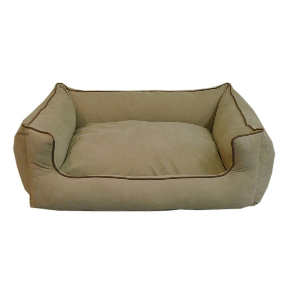 null Large Linen Low Profile Kuddle Lounge