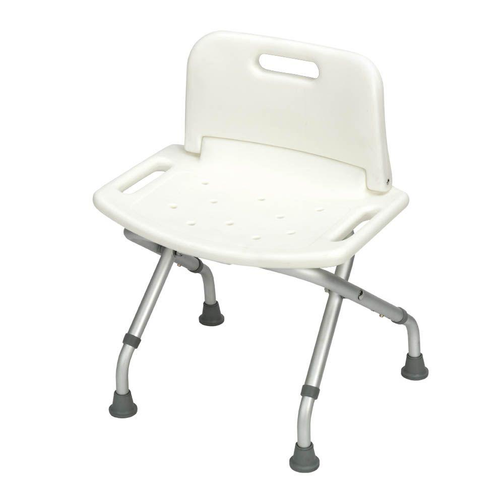 Folding Bath Bench with Back-DISCONTINUED