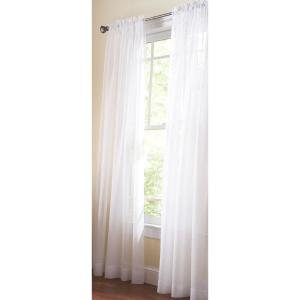 Achim Sheer Sunshine In L Polyester Window Curtain Set In