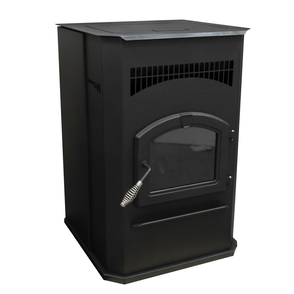 Pleasant Hearth 2,200 sq. ft. EPA Certified Pellet Stove with 120 lbs. Hopper and Auto Ignition