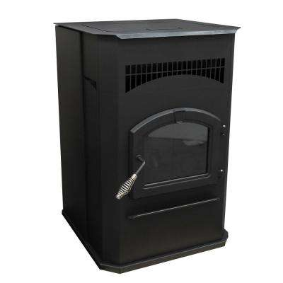 2,200 sq. ft. EPA Certified Pellet Stove with 120 lbs. Hopper and Auto Ignition