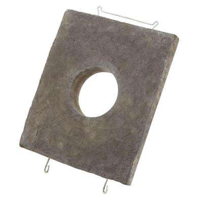 Smoke 10 in. W x 12 in. H Light Stone