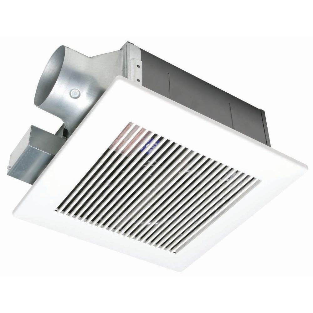 Panasonic WhisperFit 80 CFM Ceiling Low Profile Exhaust Bath Fan ENERGY STAR*