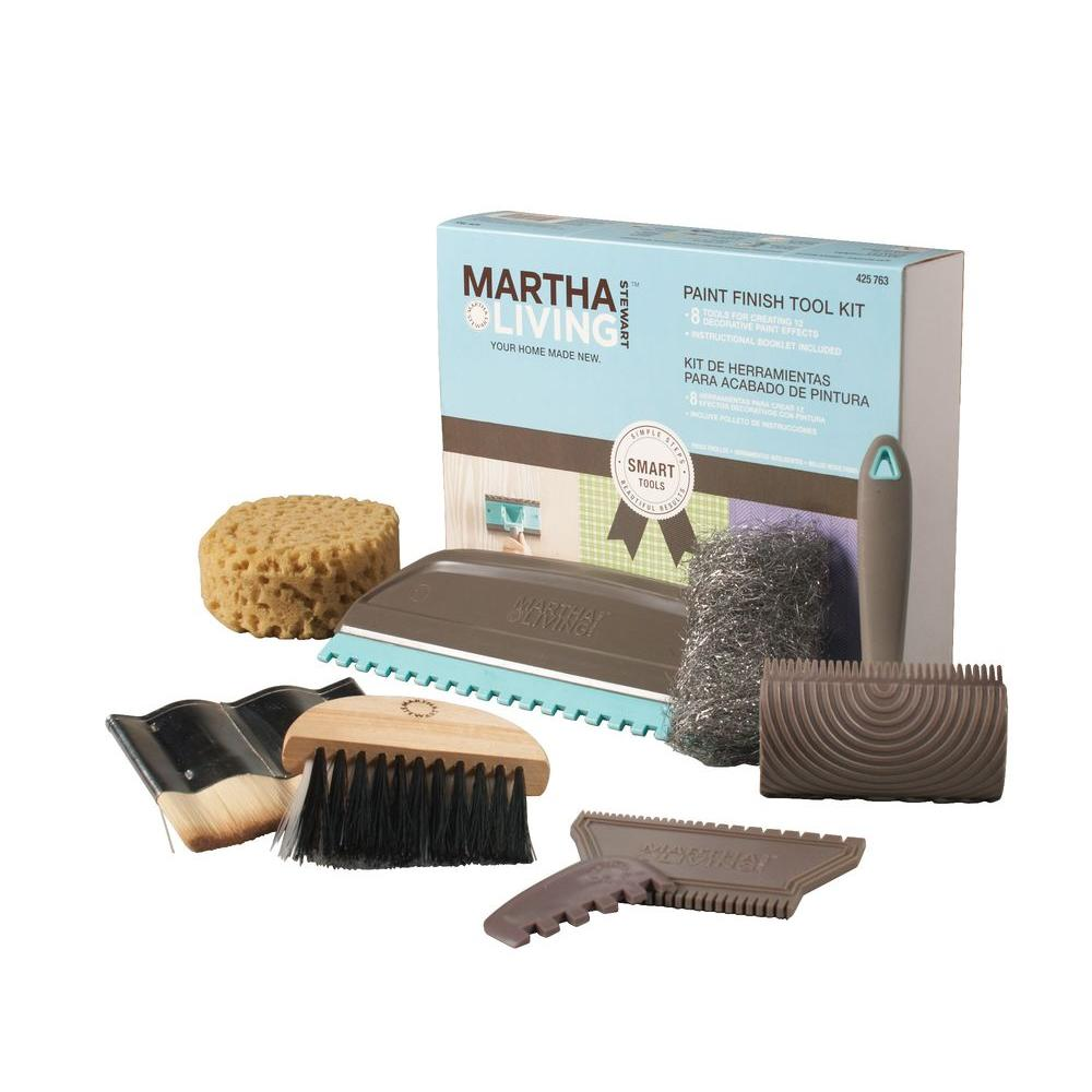 Martha Stewart Living 8-Piece Decorative Painting Tool Kit-DISCONTINUED