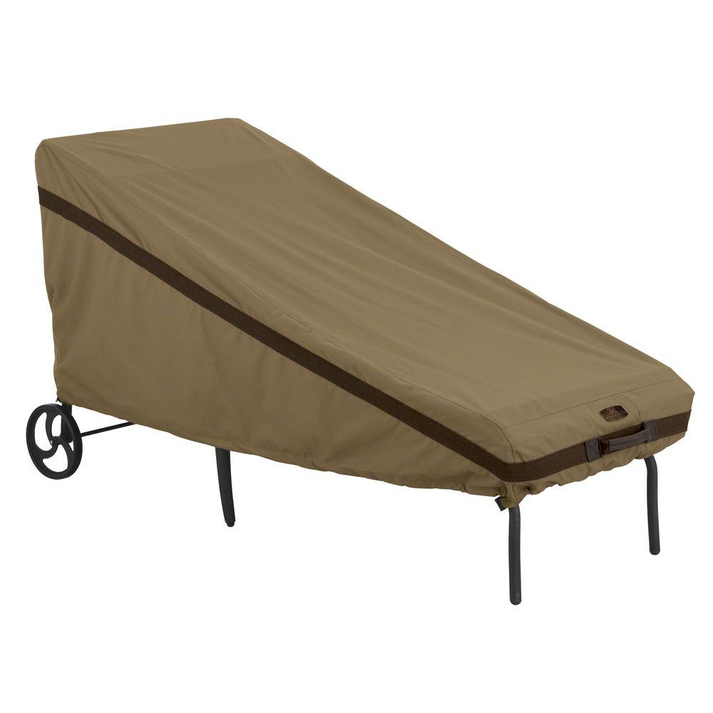 Classic Accessories Hickory Patio Chaise Cover
