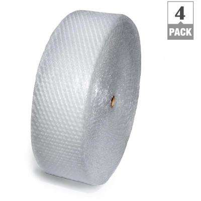 3/16 in. x 12 in. x 300 ft. Perforated Anti-Static Bubble Cushion Wrap (4-Pack)