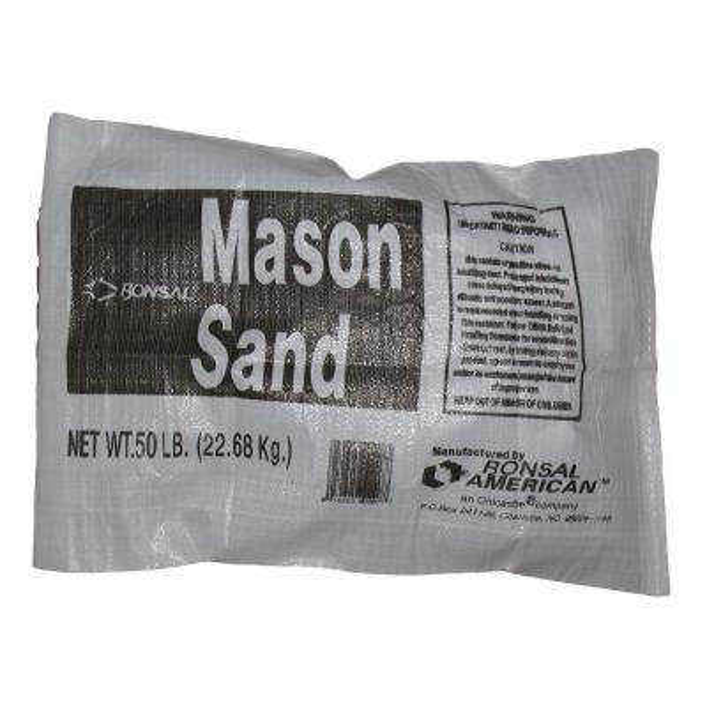 Sand -  Mortar, Cement & Concrete Mix