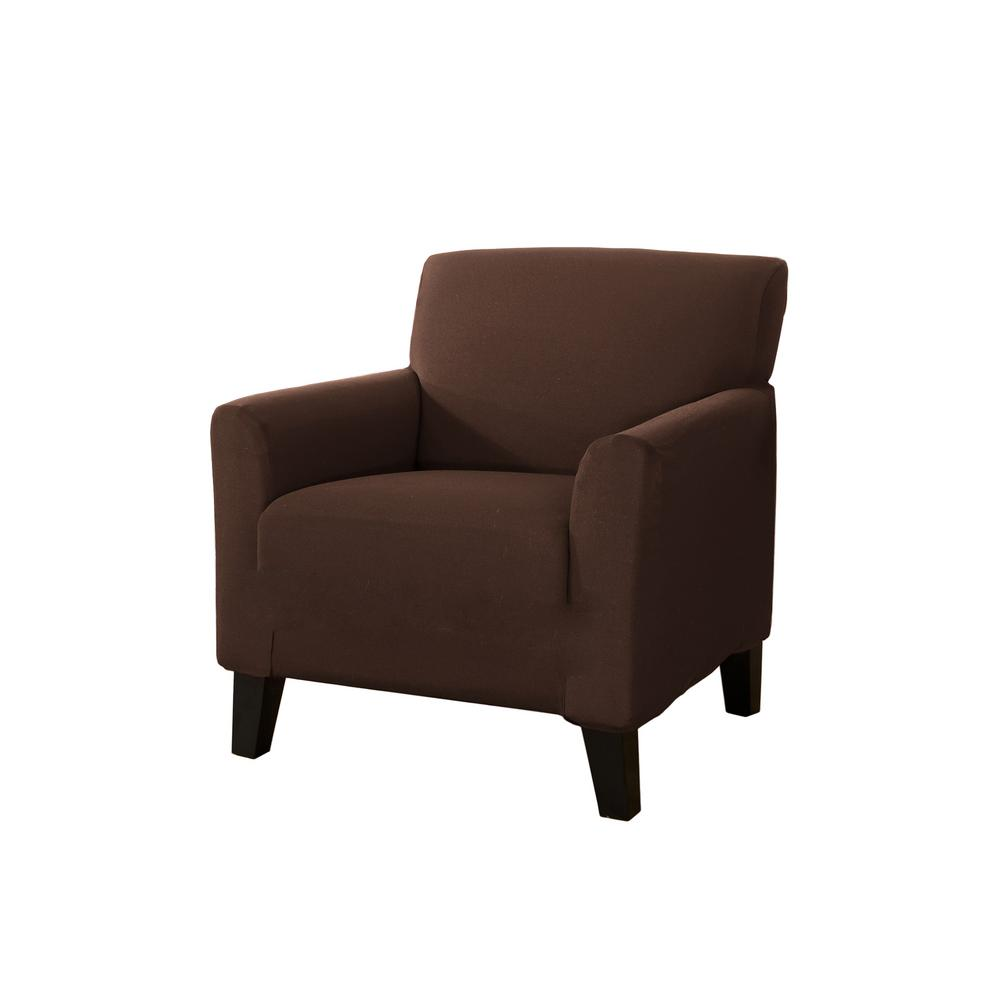 Dawson Collection Mocha (Brown) Twill Form Fit Chair Slip...