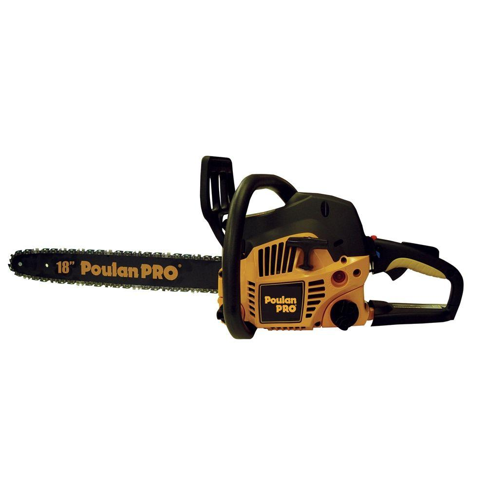 Poulan Pro 18 in  42cc Gas Chainsaw