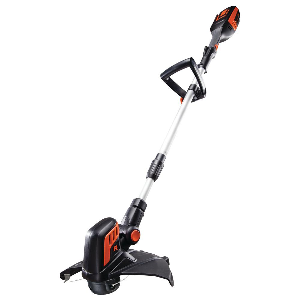 Remington 40-Volt Lithium-Ion Cordless Electric String Trimmer 2.5 Ah Battery and Charger Included