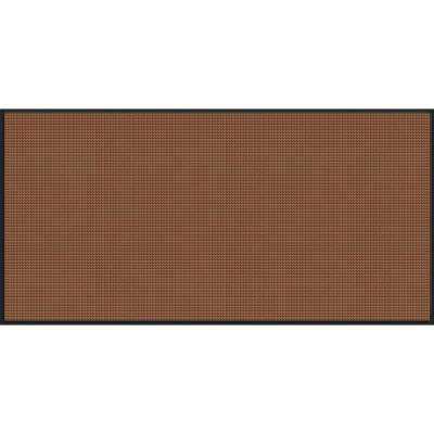 WaterGuard Dark Brown Motorcycle 45.5 in. x 97 in. Landing Pad